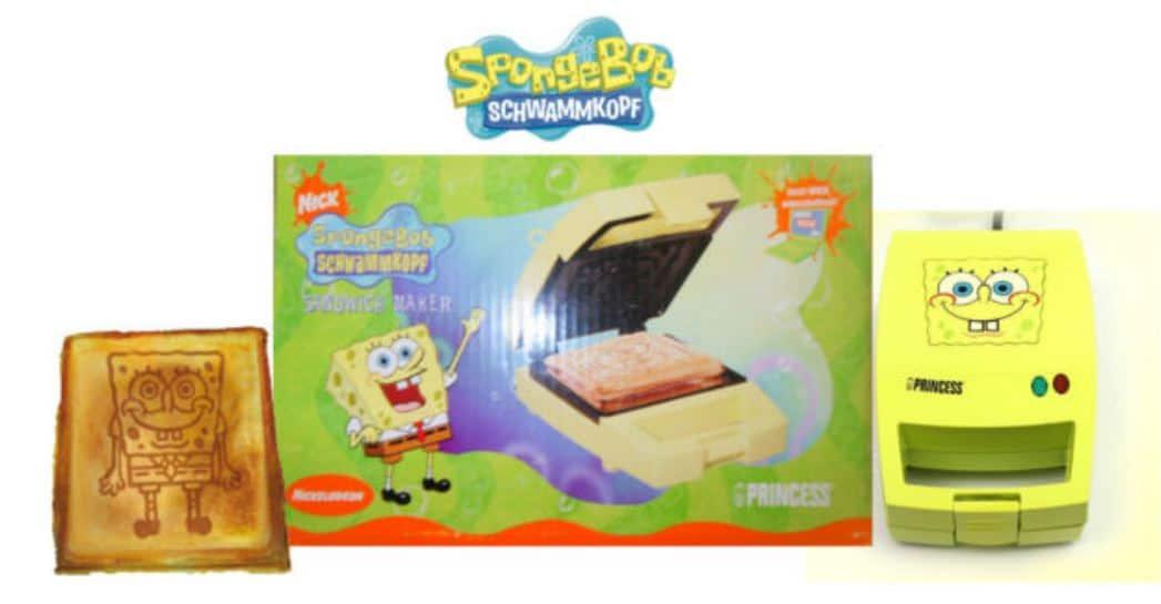 Sponge Bob Toaster Sandwich günstig Schnäppchen