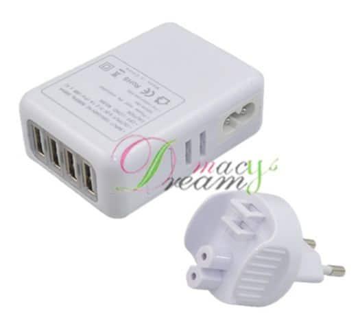 Steckerladegerät 4 x USB Port bester Preis China günstig shop Gadget Gadgets