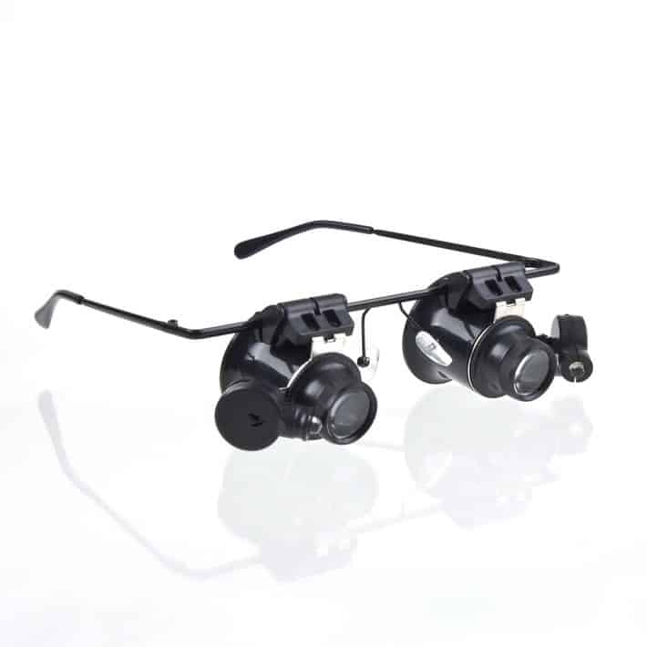 Vergrößerungsbrille bester Preis Gadget Gadgets Shop günstig Ebay