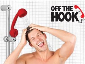 bakelit hörer dusche, telefonhörer duschkopf