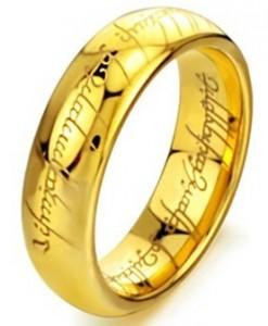 frodo ring, gold
