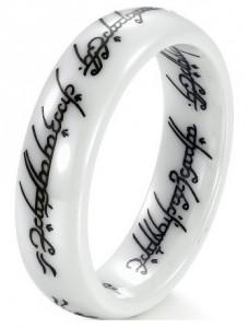 herr der ringe ring, elbenring, frodoring, keramik herr der ringe