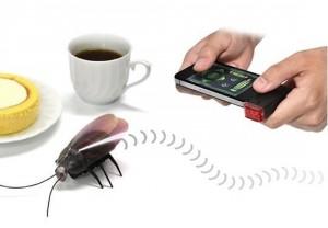i-robot küchenschabe, iphone schabe
