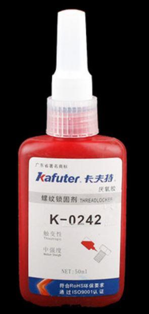 Kafuter Schraubensicherung rot KFZ ähnlich Loctide 50ml