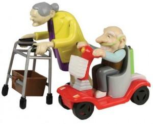 racing granny, rasende oma, raseopa, aufziehbar spielzeug