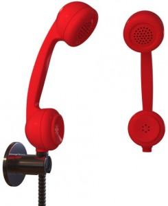 telefon duschkopf, brausekopf telefonhörer retro