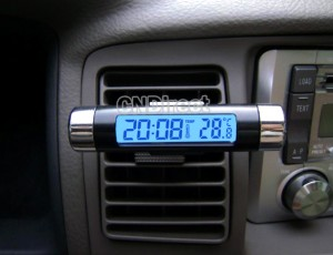 thermometer auto, innenthermometer auto, led autothermometer