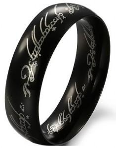 tungsten ring, titanring herr, knechten ring