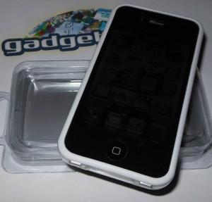 weißer bumper iphone 4s