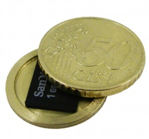 50 Cent Versteck Geheimversteck Münze Gadget Gadgets Geek