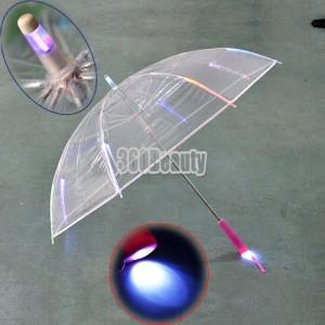 LED Schirm Regenschirm Geschenk Shop Gadget Gadgets