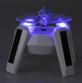 LED Teller Solar Drehteller bester Preis Ebay Import PayPal Shop