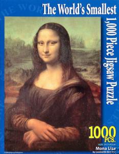 Puzzle 1000 Teile Mona Lisa Gadget Gadgets Geschenke