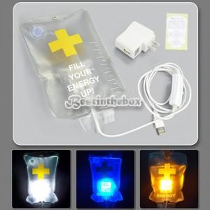 Tropf LED Lampe Gadget lustig