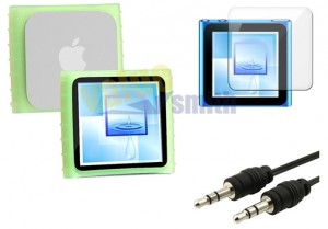 audiokabel ipod6, displayschutzfolie ipod6