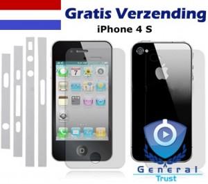 iPhone 4S Full Body Protector, schutz komplett 4s