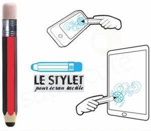 le stylet, touch pen