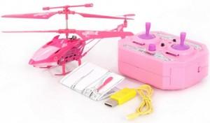 pink heli, rosa hubschrauber
