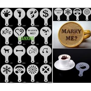 Schablone Kaffee Dekoration günstig hübsch Gadget Gadgets China