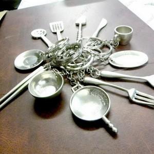 schlüsselanhänger küche