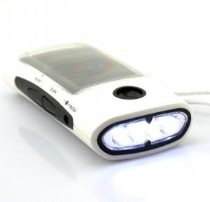 taschenlampe solar