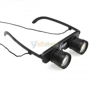 Teleskopbrille 3x fach weit gucken Gadget Gadgets Fernglasbrille