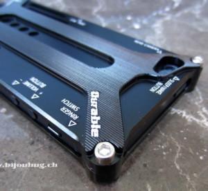 transformer bumper alu, alu case iphone 5