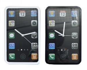 wanduhr app, uhr glas iphone
