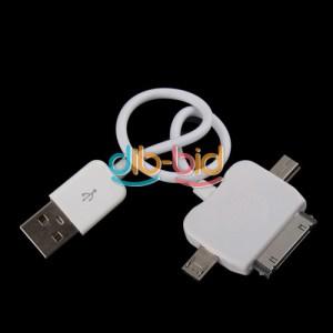 adapter 3in1 usb, micro usb adapter, mini usb adapter, iphone adapter, multiadapter handy