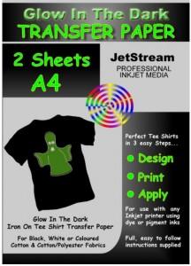 Gadget Gadgets T-Shirt selbst bedrucken Glow in the dark günstig Tintenstrahldrucker