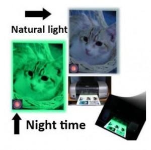 Glow in the dark Papier Brucker Druckerpapier günstig Gadget Gadgets