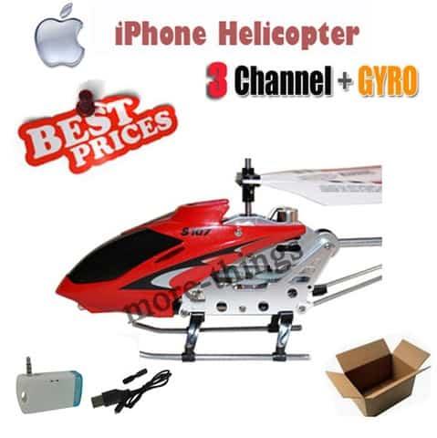 helikopter iphone andoid steuerung