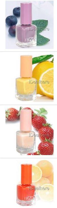 Nagellack Aroma Duft Früchte günstig Gadget Aroma Erdbeer Orange