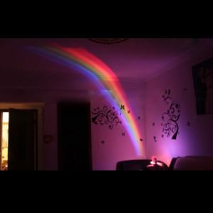 regenbogenlampe, regenbogensimulator