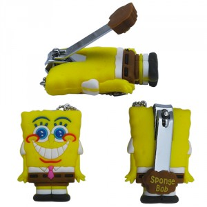 spongebob nagelknipser, spongebob schere, nagelknipser