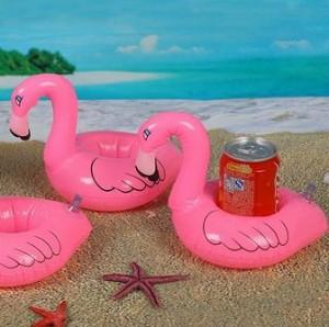 störche, flamingo dosenhalter