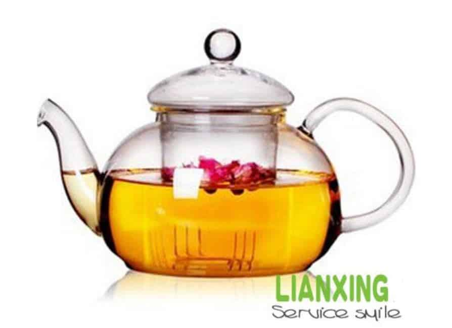 Teekanne China Glas 400ml