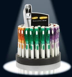 10 kugelschreiber led