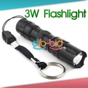 3w mini taschenlampe, minitaschenlampe, schlüsselanhänger taschenlampe