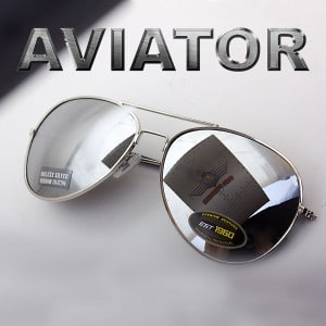 aviator sonnenbrille, verspiegelt brille