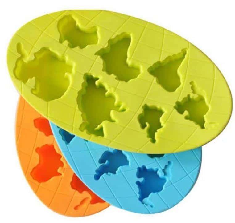 Eiswürfel Kontinent Silikom Form Gadget Gadgets Geschenk Geschenke Shop Idee günstig Import PayPal Ebay
