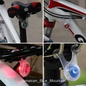 fahrradleuchte, rücklicht, led licht