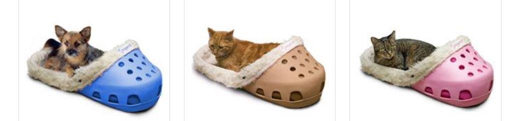 Hundebett wie Crocs Katzenbett