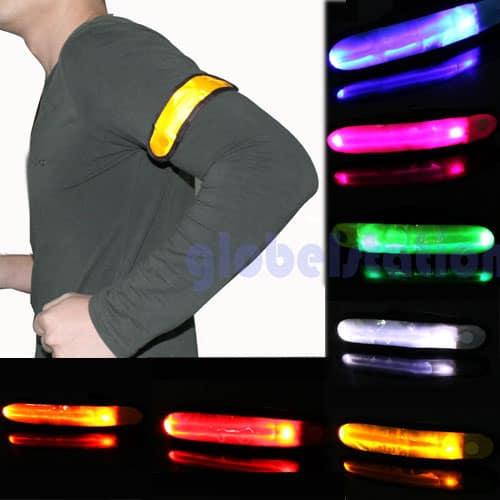 update led leuchtband verschiedene farben f r jogger schon ab g nstigen 1 22 euro inkl. Black Bedroom Furniture Sets. Home Design Ideas