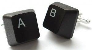 manschettenknöpfe buchstaben tastatur