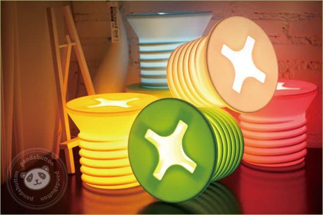 Schraube Lampe Design Schraubenlampe Schraubenleuchte
