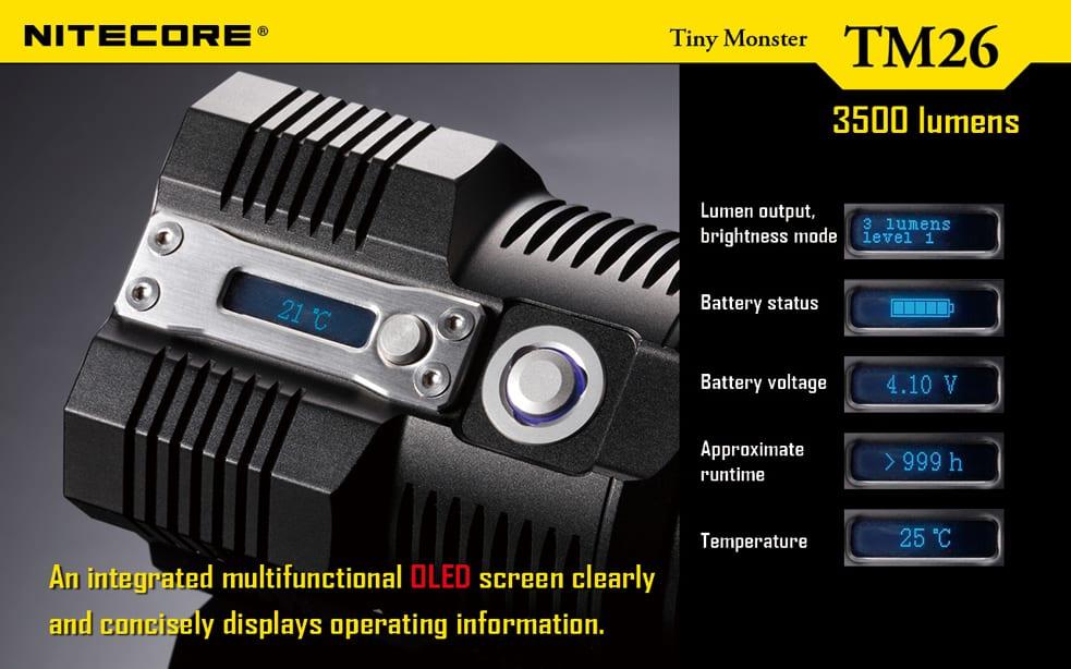 Tiny Monster TM26 NiteCore günstig Shop
