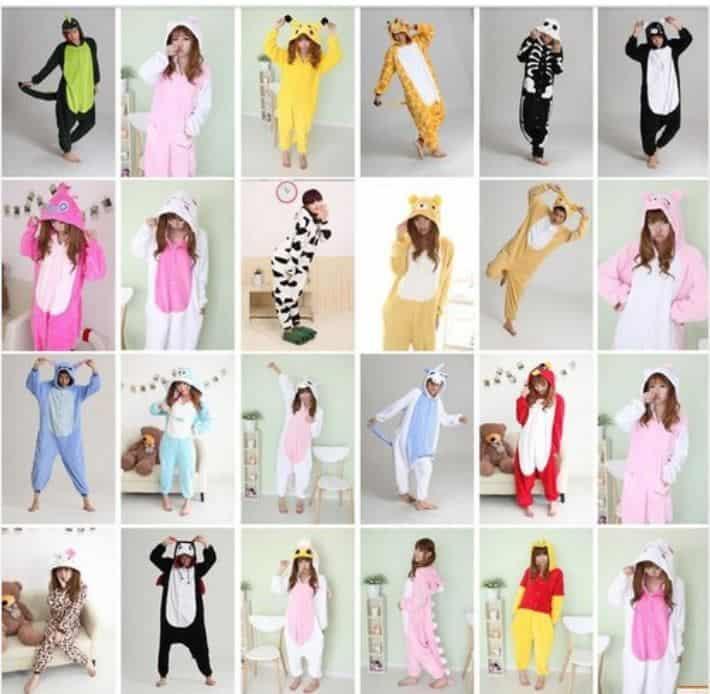 Cosplay Schlafanzug? Kigurumi Pyjamas in verschiedenen Größen ab 13,26 Euro inkl. Versand!
