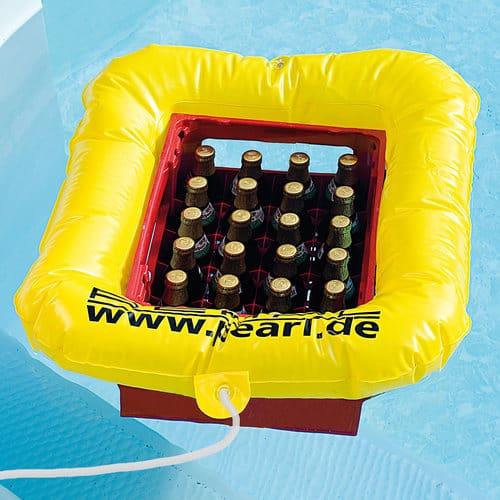 Getränkekasten-Schwimmring für kühles Bier nur 6,85 Euro inkl. Versand aus Deutschland!