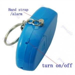 schlüsselanhänger alarmpieper
